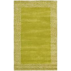 Safavieh Handmade Soho Green New Zealand Wool Rug (7'6 x 9'6)