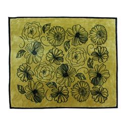 Agnes Floral Microplush Blanket