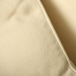 Brushed Twill Natural Decorative Pillows (Set of 2)