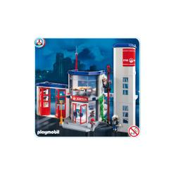 Playmobil Fire Station Play Set