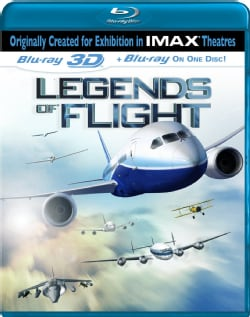 Legends Of Flight 3D (IMAX) (Blu-ray Disc)