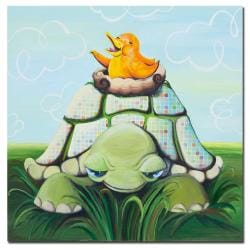 Sylvia Masek, 'Afternoon Seranade' Canvas Art