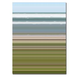Michelle Calkins 'Sky Water Beach Grass' Canvas Wall Art