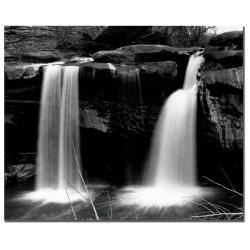 Nicole Dietz 'Waterfalls' Canvas Art