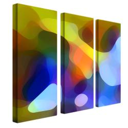 Amy Vangsgard 'Dappled Light and Shade' 3-piece Art Set