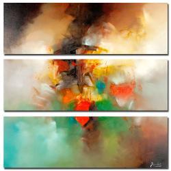 Zavaleta 'Abstract I' 3-piece Art Set