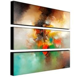 Zavaleta 'Abstract I' 3-piece Art Set