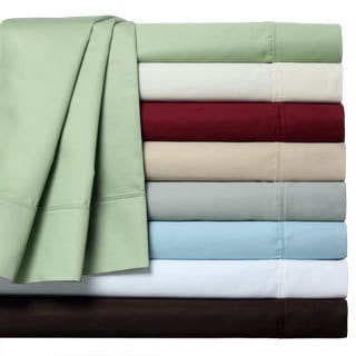 Lancaster Sateen 1000 Cotton Blend Thread Count 6- Piece Sheet Set