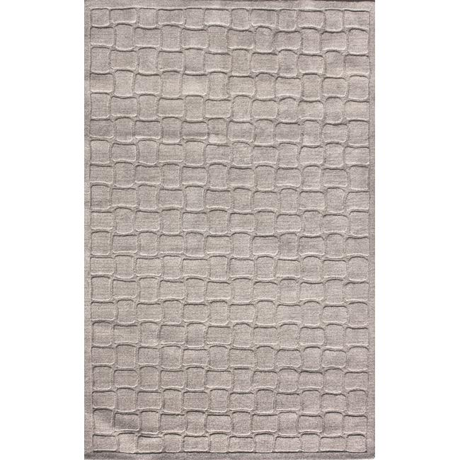 nuLOOM Hand-tufted Prive Grey Brick Rug (5' x 8')