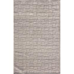 nuLOOM Hand-tufted Prive Grey Brick Rug (7'6 x 9'6')
