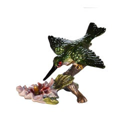 Cristiani Flying Humming Bird Trinket Box