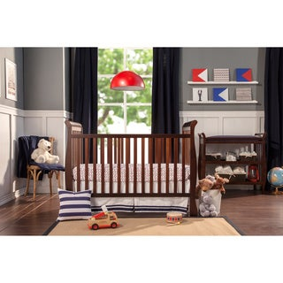 DaVinci Jamie 4-in-1 Convertible Crib in Espresso