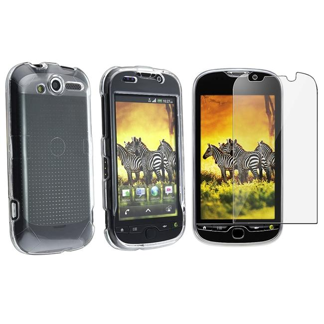 INSTEN Snap-on Phone Case Cover w/ Screen Protector for HTC T-mobile myTouch 4G