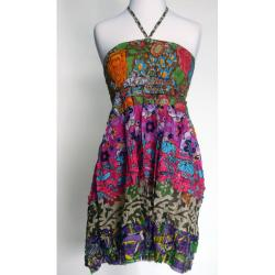 Women's Cotton Halter Top (Nepal)