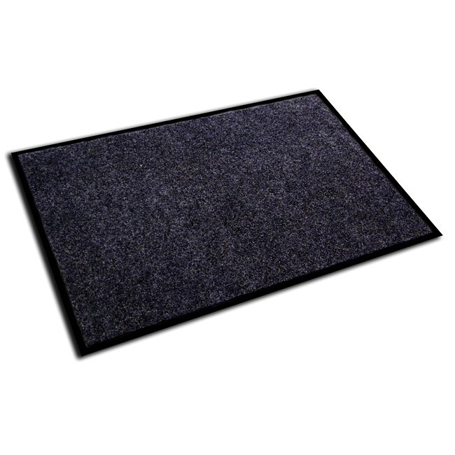 Floortex Ecotex Charcoal 24x36 Inch Rib Entrance Mat