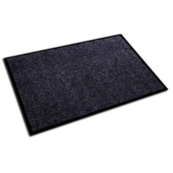 Floortex Ecotex Charcoal 24x36-inch Rib Entrance Mat