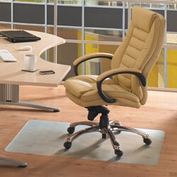 Floortex Ecotex RevolutionMat 30 x 48-inch Recycled Chair Mat for Hard Floor