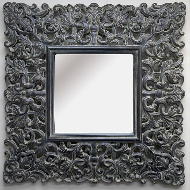 Traditional Dark Mink Mirror