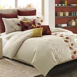 Serena Rust Standard-size Pillow Sham