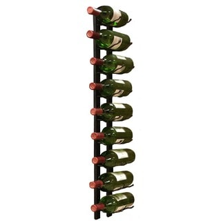 Epicureanist 9-bottle Metal Wine Rack