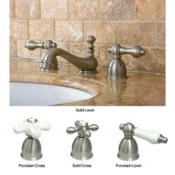 Satin Nickel Mini-widespread Faucet