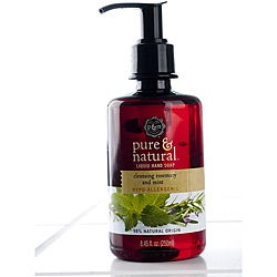 Pure & Natural 8.45-ounce Cleansing Rosemary and Mint Hand Soaps (Pack of 4)