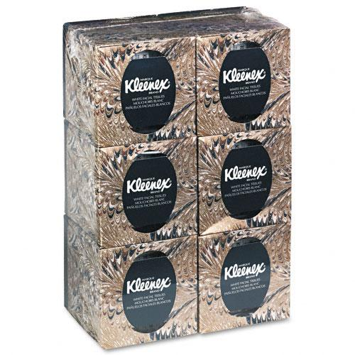 Kleenex White Facial Tissue Boutique Pop-up Boxes (Set of 6)