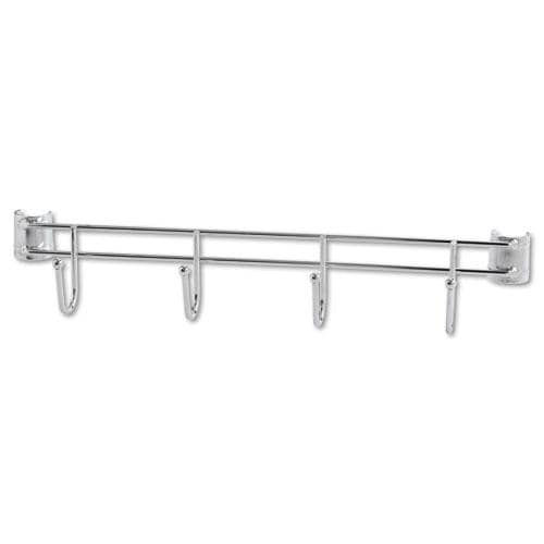 Alera Four-Hook Bars For Wire Shelving (Pack of 2)