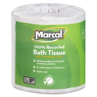 Marcal 'Small Steps' Recycled Two-ply Bath Tissue (Case of 80)
