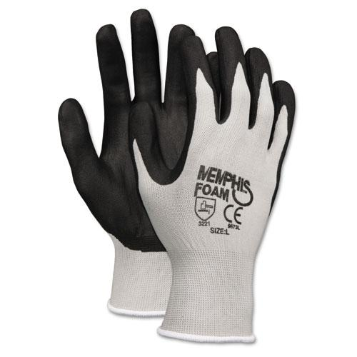 MCR Safety Economy Foam Nitrile Large Gloves (Pack of 12 pairs)