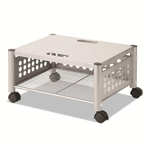 Vertiflex Matte Grey Steel Underdesk Machine Stand