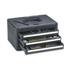 Great Neck Essentials 205-piece Home/ Garage Tool Kit in 3-drawer Case