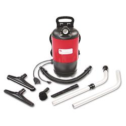 Electrolux Sanitaire Commercial 11.5-pound Red Backpack Vacuum