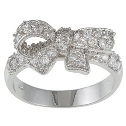 Kate Bissett Cubic Zirconia Bow Ring