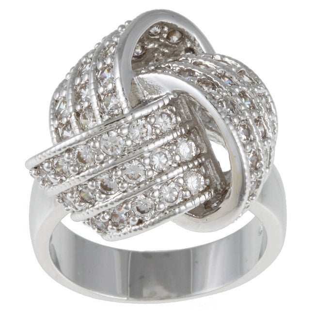 Kate Bissett Cubic Zirconia Knot Ring