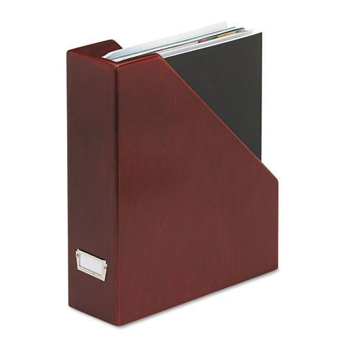 Rolodex Wood Tones Mahogany Magazine File 13508844