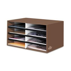 Banker's Box Brown Eight-Section Letter-Size Literature Sorter