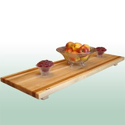 Large Maple/ Cherry Serving and Cutting Board