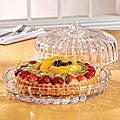 Fifth Avenue Crystal Alexandria Domed Cake Plate