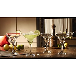 Fifth Avenue Crystal Ambassador Margarita Glasses (Set of 4)