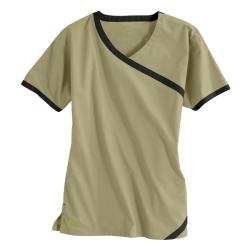 IguanaMed Women's Cross Over Sahara Tan Top