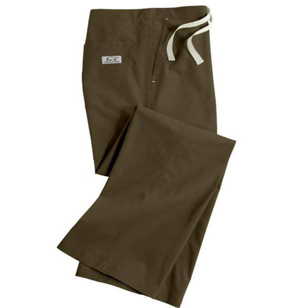 IguanaMed Women's Classic Sienna Brown Boot Cut Pants