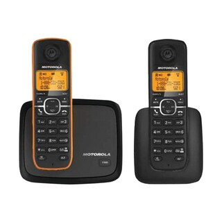Motorola L602 DECT 6.0 Cordless Phone System with 2 Handset