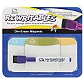 Quartet Rewritables Dry Erase Magnet Kit with Marker