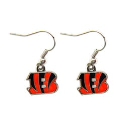 Cincinnati Bengals Dangle Logo Earrings