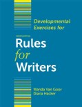 Developmental Exercises for Rules for Writers (Paperback)