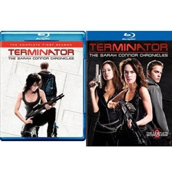 Terminator: The Sarah Connor Chronicles Seasons 1 & 2 (Blu-ray Disc)