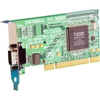 Brainboxes 1-port Universal PCI Serial Adapter