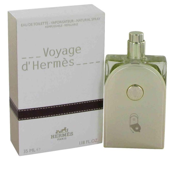 Hermes Voyage DHermes Men's 3.3-ounce Eau de Toilette Spray (Refillable)