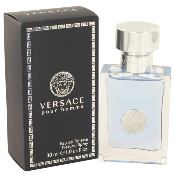 Versace 'Pour Homme' Men's 1-ounce Eau De Toilette Spray